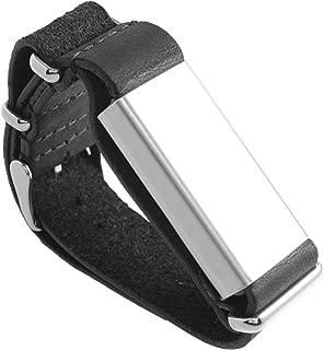 Slightly Robot Hand-Tracking Bracelet for Breaking - Black Leather - Model 2