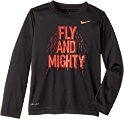 Nike Kids - Fly and Mighty Dri-Fit Long Sleeve Tee (Toddler)