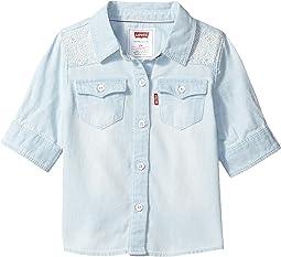 The Western 3/4 Sleeve Denim Top (Infant)