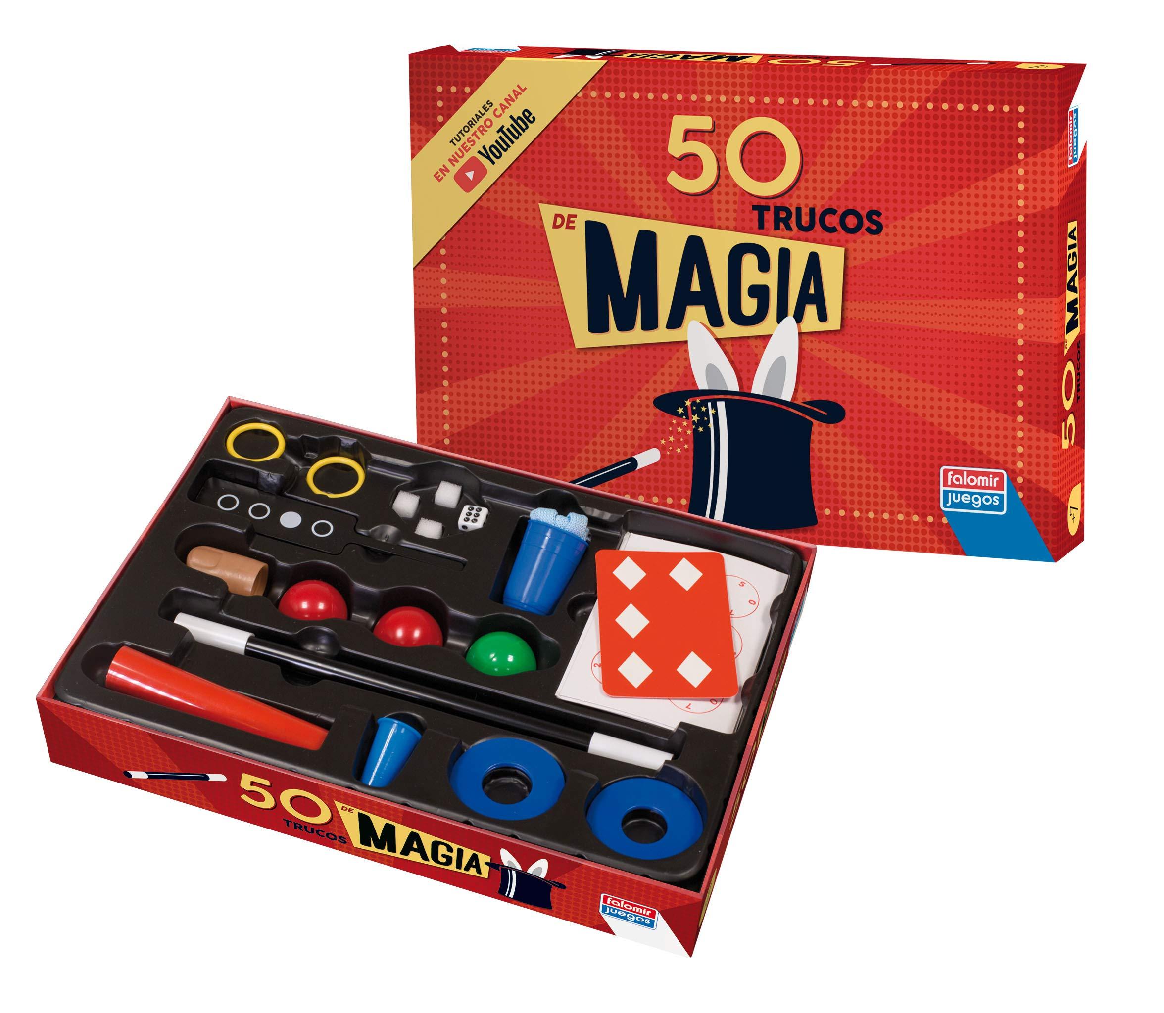 Falomir- Caja Magia 50 Trucos, Multicolor (1040): Amazon.es: Juguetes y juegos