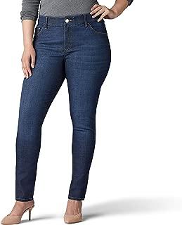 Lee Womens 30874 Plus Size Flex Motion Regular Fit Skinny Leg Jean Jeans