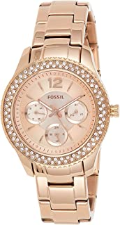 Fossil Women's Stella Stainless Steel Multifunction Quartz Watch