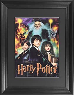 Harry Potter 3D Poster Wall Art Decor Framed Print | 14.5x18.5 | Lenticular Posters & Pictures | Memorabilia Gifts for Guys & Girls Bedroom | Hogwarts Movie Picture for Kid's Walls & Room Decorations