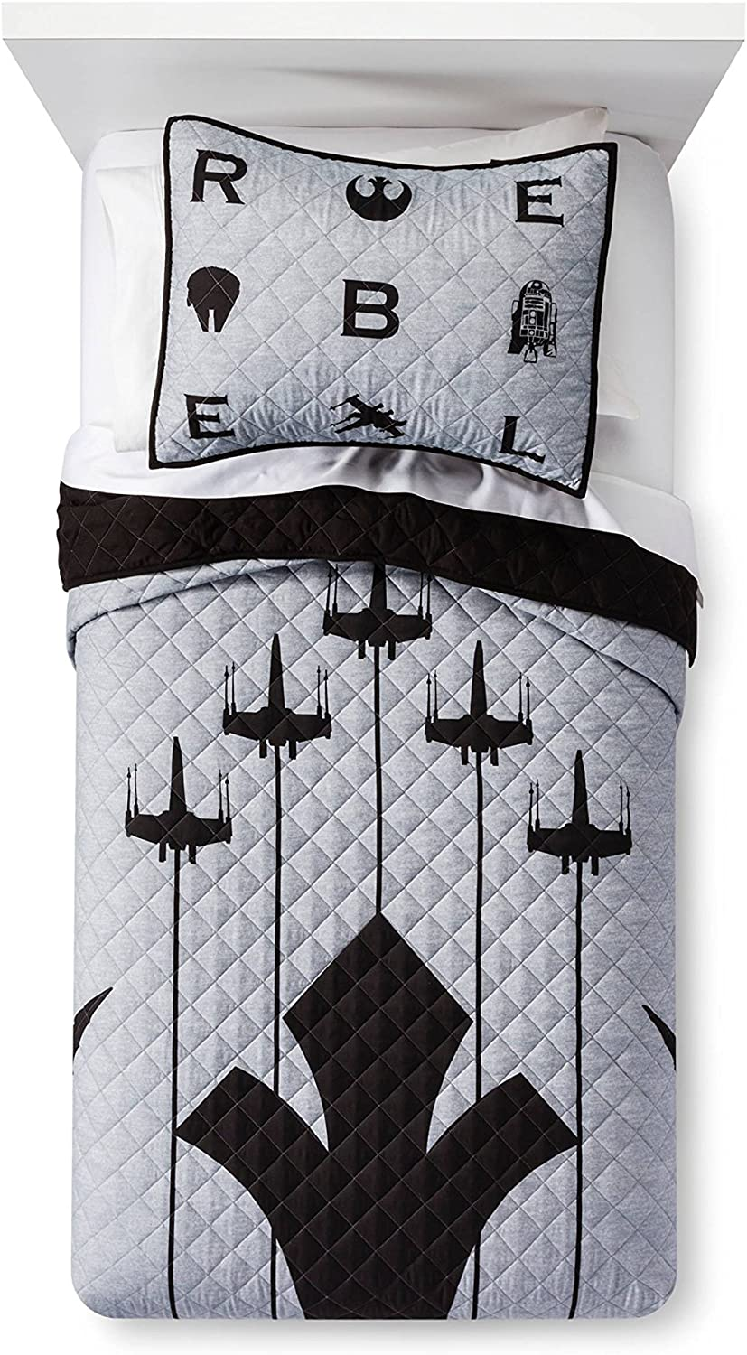 Star Wars Emblem Quilt Set (Zwei)