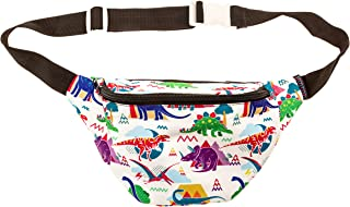 Dinosaur Fanny Pack with Hidden Pocket Perfect for Raves and Festivals