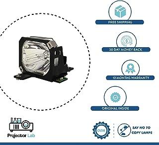 Original Inside Lamp Lámpara de Repuesto para OPTOMA HD600X SP.8EH01GC01 con 12 Meses de garantía