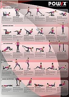POWRX Whole Body Vibration Training Chart for Portable Vibration Fitness Machines