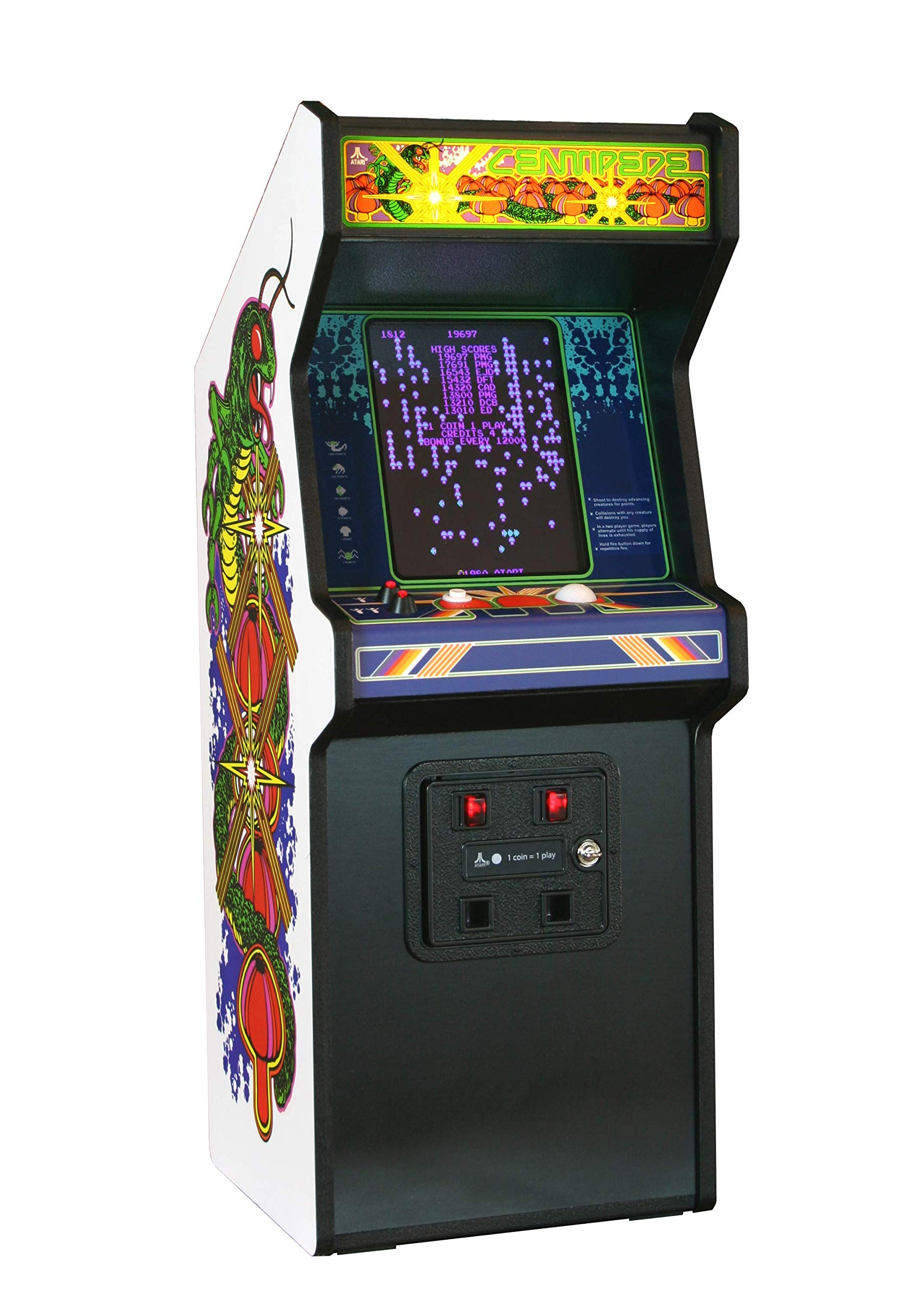arcade cabinets amazon com rh amazon com mame arcade cabinet plans free cocktail arcade game cabinet kit