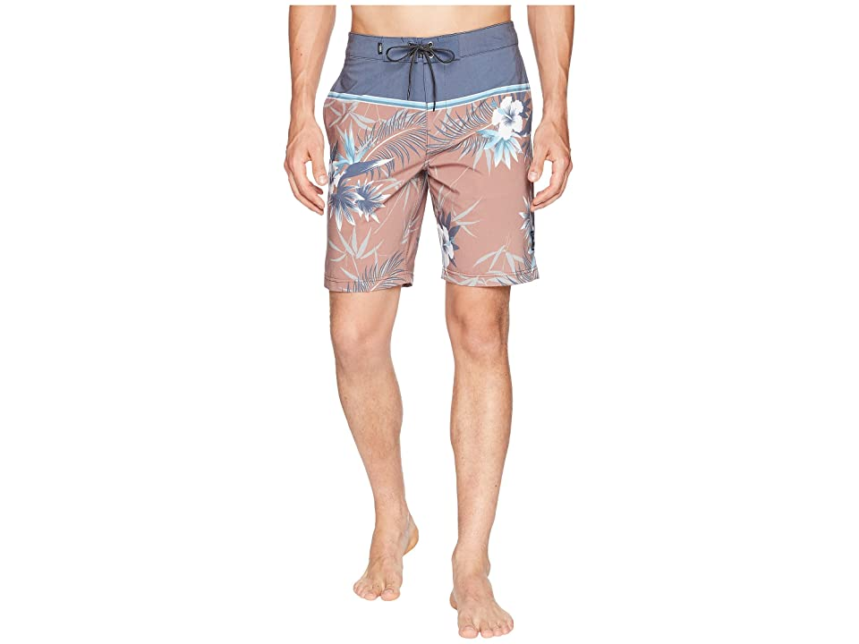 Vans Peace Out Floral Boardshorts (Dress Blues/Peace Out Floral) Men