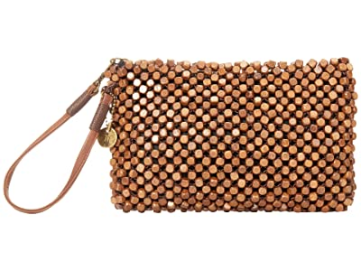The Sak Montara Wristlet (Brown Wood Beads) Handbags