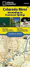 Colorado River, Kremmling to Glenwood Springs (National Geographic Fishing & River Map Guide)
