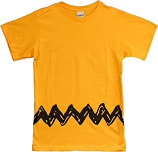 Charlie Brown Peanuts Zig Zag T-Shirt Adult