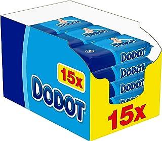 Dodot Toallitas para Bebé 15 Paquetes de 64 Unidades, 960