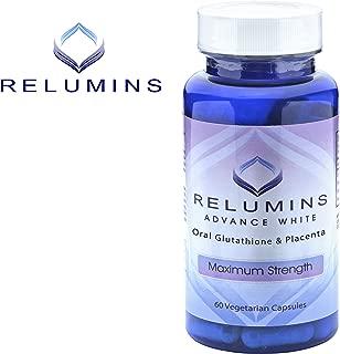 Relumins Advanced White Oral Glutathione Whitening Formula Capsules-max Strength