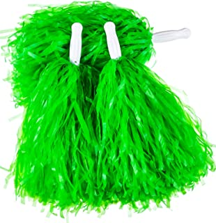 Best lime green poms Reviews