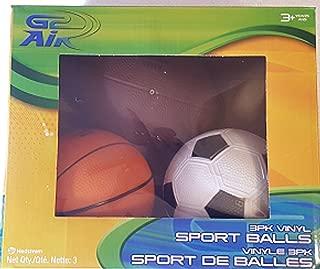 Hedstrom G2 Air Sports Ball Set for Children (Football, Soccer & Basketball)