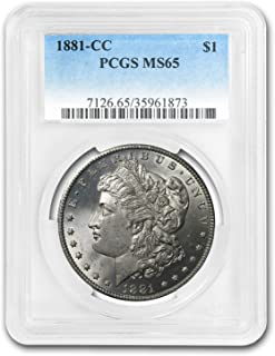 1881 CC Morgan Dollar MS-65 PCGS $1 MS-65 PCGS