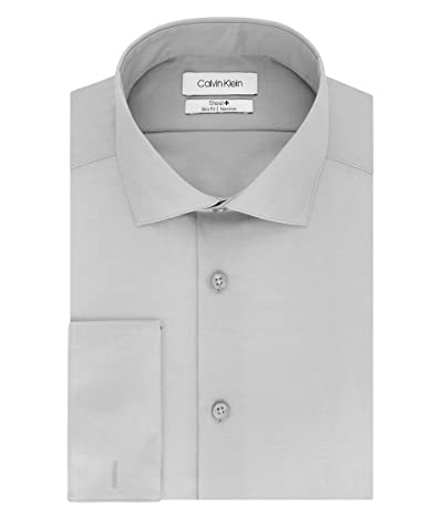 Calvin Klein Non Iron Slim Fit French Cuff Dress Shirt
