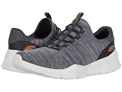 SKECHERS Equalizer 4.0 Voltis (Charcoal/Orange) Men