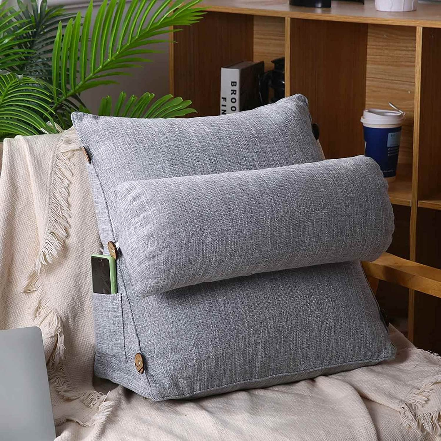 Wedge Back Pillow Triangle Cushion Rest Sleep Sofa Home Bed 35% OFF Neck Super popular specialty store