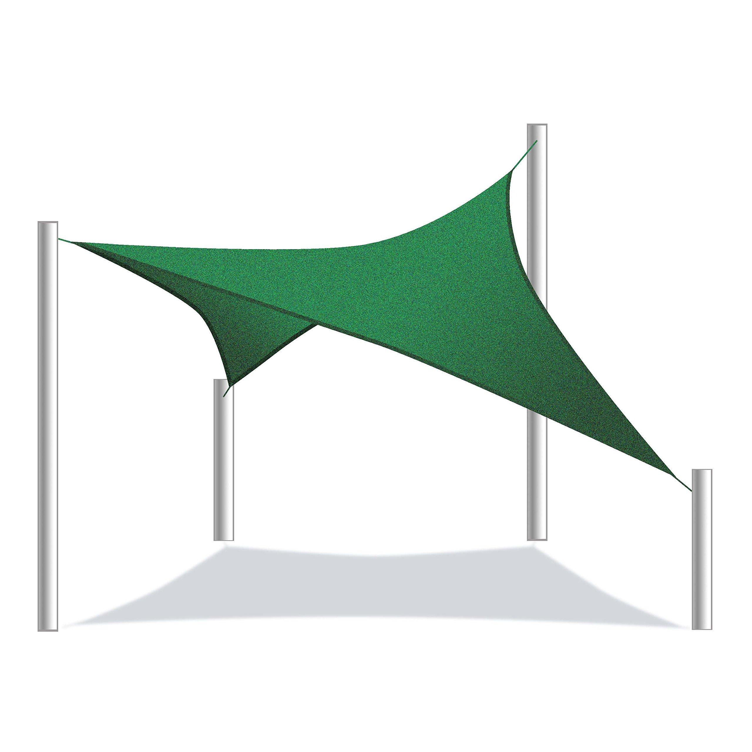 Aleko Rectángulo 3.96 x 3.05 Metros Resistente al Agua toldo toldo Tienda de Campaña de Repuesto Verde Color: Amazon.es: Jardín