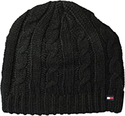 Chunky Fleece Lined Cable Hat