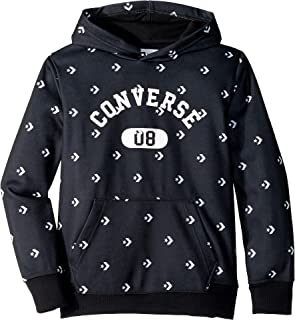 Converse Kids Mens All Over Printed Fleece Pullover (Big Kids) 7869cdd78