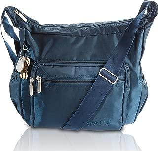 Crossbody Bags for Women Hobo Nylon Lightweight Travel Purse Multi Pocket Shoulder Bag Handbags