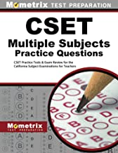 cset multiple subject