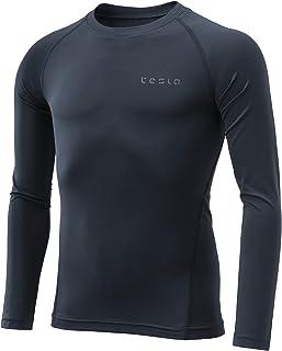 TSLA Boy's Compression Baselayer Cool Dry T-Shirts/Long Tights/Shorts, Basketball Running Hockey Soccer Multi Sports wear ...