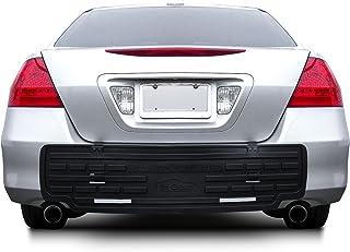FH Group F16408 F16408BLACK Universal Fit Rear BumperButler Bumper Guard Protector New..