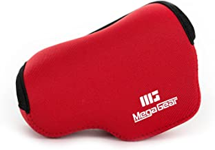 MegaGear Estuche de cámara Ultra Ligero, de Neopreno Compatible con Panasonic Lumix GX800, GX800, DMC-GF8, DMC-GF7 (12-32mm)