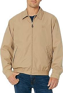 Chaps mens Classic Fit Full-Zip Microfiber Jacket Transitional Jacket
