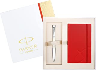 Parker Urban Premium Pearl Gift Set Ballpoint and Notebook Gift Set (1905301)