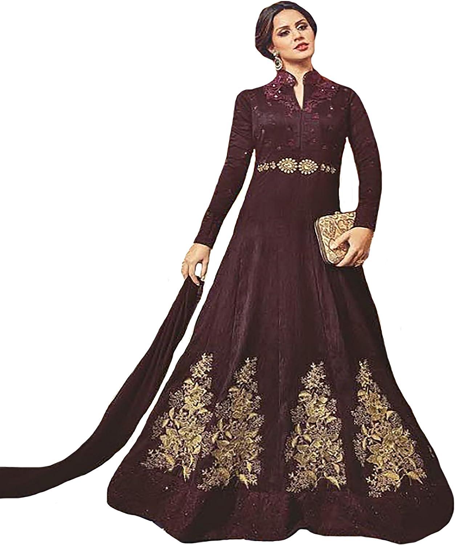 Bollywood 100% Original Gown Anarkali Salwar Kameez suit Formal Ceremony Muslim 9309