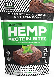 Delicious Keto Vegan Snacks - Gluten Free Plant Based Snacks Protein Bites - Low Carb Low Sugar Protein Snacks for Adults and Kids Taste Like A Mouthwatering Chocolate Chip Mint Brownie Bite Desserts