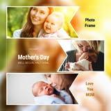 幸せな母の日フォトフレームカード2020