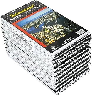 20-Piece FIS Spiral International Shorthand Book, Single Ruled (80 Sheets x 20-Piece) 127x205 mm Size - FSSHSLINT580