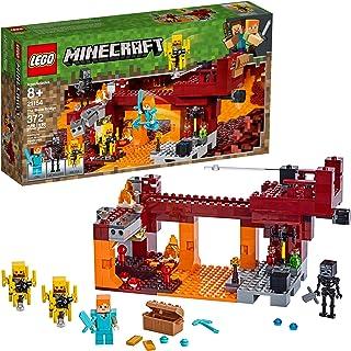 Lego Minecraft El Puente del Blaze, 21154, Building Kit de 3