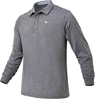 Men's Golf Shirts Quick Dry Short/Long Sleeve Polo Athletic Casual T-Shirt