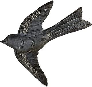 Small Metal Bird Flying,Haitian Recycled Metal Drum Wall Art