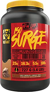 MUTANT ISO SURGE – Whey Protein Powder that Acts Fast to Help Support, Recovery, Muscle Building, and Strength – High-Qual...