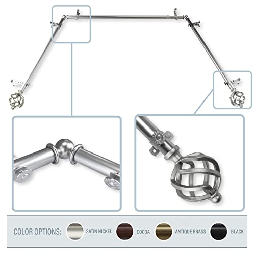 Curtain Rods For Bay Windows: Amazon.com