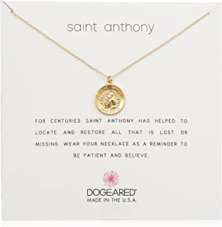 Dogeared St Anthony Necklace, 16