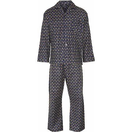 Champion New Mens Wyncette Brushed Cotton Pyjama Nightwear Lounge Wear Navy S