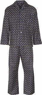 Champion Mens Diamond Wyncette Cotton Pyjama Lounge Wear - Blue - M
