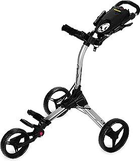 Bag Boy Golf Compact 3 Push Cart (Silver/Black, )