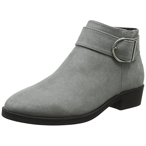 fba322613eb2 Womens Grey Ankle Boots  Amazon.co.uk