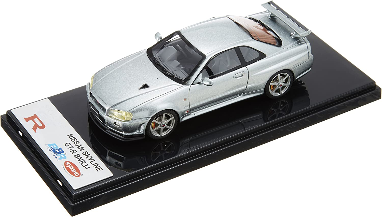 Original Kyosho 1 43 Nissan Skyline R34 (BBR)   Silber (japan import) B004IDKOFQ Schön  | Sale
