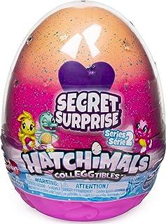해치멀 콜에그터블즈 시크릿 서프라이즈 플레이세트 Hatchimals CollEGGtibles, Secret Surprise Playset with 3 Hatchimals (Styles May Vary)